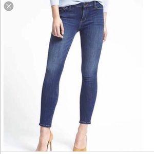 Banana Republic | Medium Wash Cropped Jeans Sz 32S